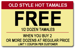 Savings, Hot Tamales in Gretna, LA